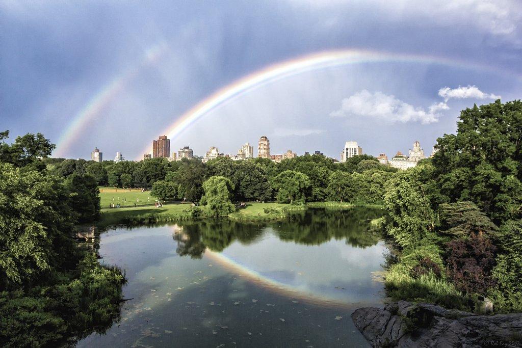 Double Rainbow over Central Park